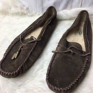 Ugg's women brown slippers size 11